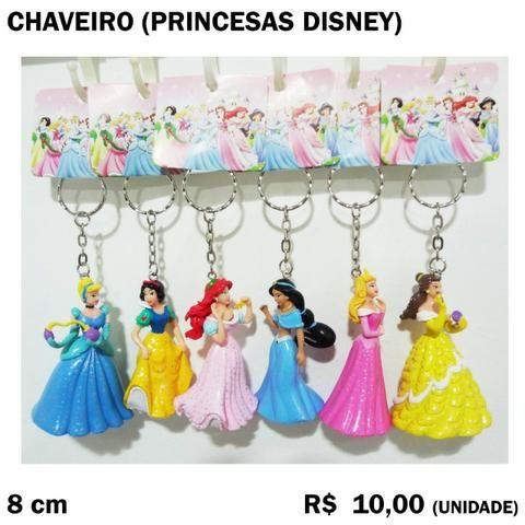 Chaveiro Princesas Yasmin e Branca de Neve