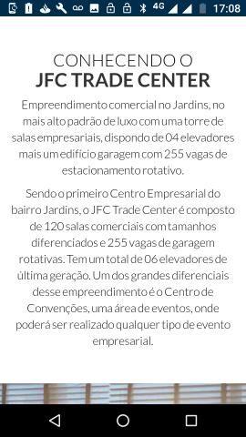 Vendo Sala JFC TRADE CENTER aparti de R$330.00 - Foto 5