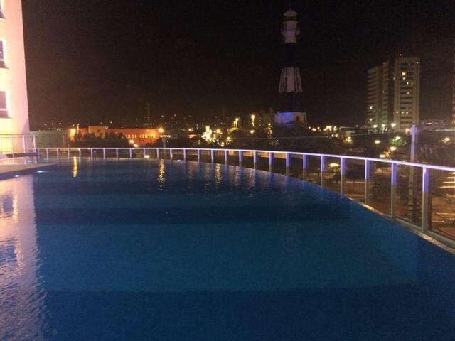 Vista Beira Mar com 128 metros Sul/Leste