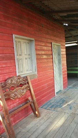 Vendo casa em madeira
