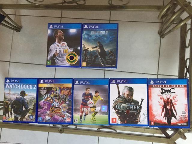 Jogos PS4 novos e usados