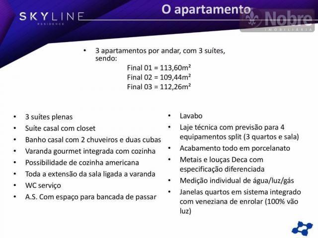 Apartamento com 3 dormitórios à venda, 113 m² por r$ 652.300 - plano diretor sul - palmas/ - Foto 13