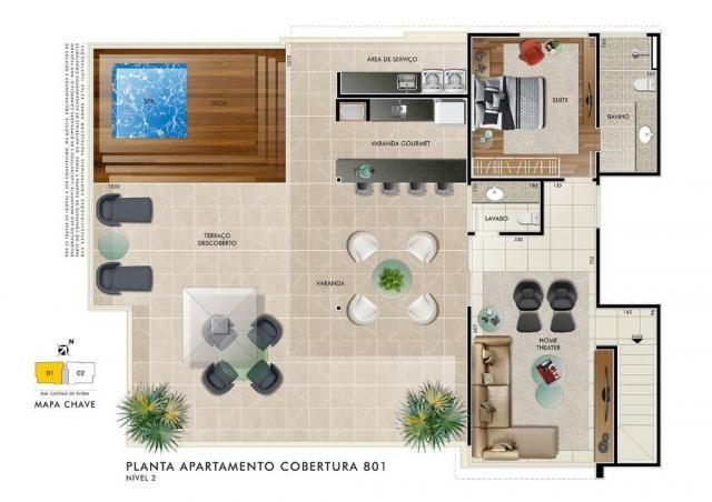Apartamento com 4 dormitórios à venda, 153 m² por R$ 1.240.000,00 - Castelo - Belo Horizon - Foto 11