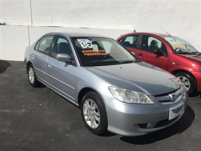 HONDA CIVIC 1.7 LX 16V GASOLINA 4P MANUAL 122000 km impecável