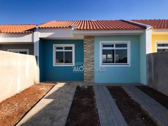 Casa com 2 dormitórios à venda, 42 m² por r$ 130.000 - estados - fazenda rio grande/pr - Foto 17