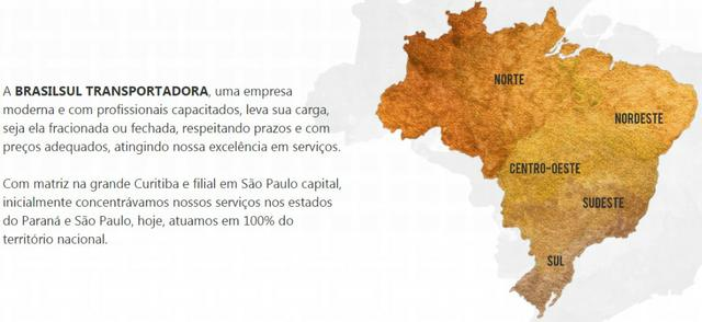 Brasilsul transporte carga fechada e fracionada para todo BRasil - Foto 3