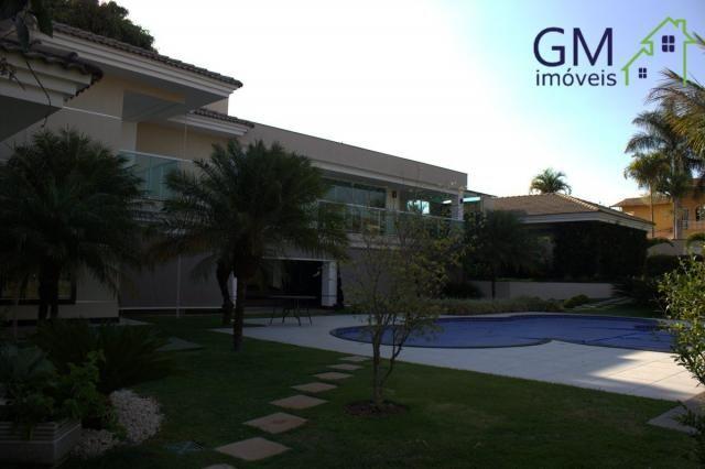 Casa a venda / setor de mansões / 4 suítes / piscina / churrasqueira / varanda / sobradinh - Foto 6