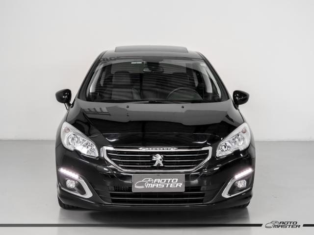 Peugeot 408 Sedan Griffe 1.6 TB Flex 16V 4p Aut. - Preto - 2019 - Foto 3