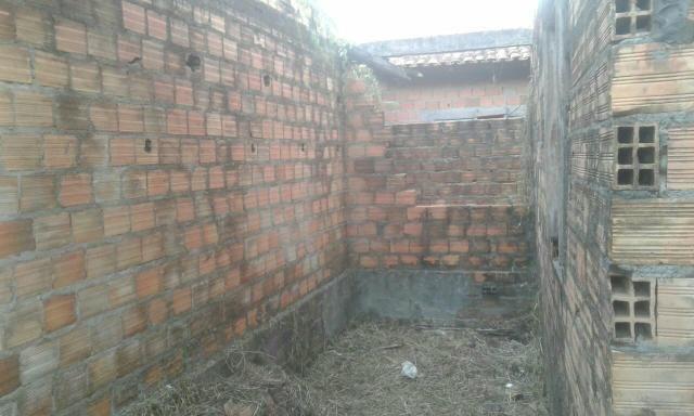 Vendo terreno com casa em construção - Foto 2