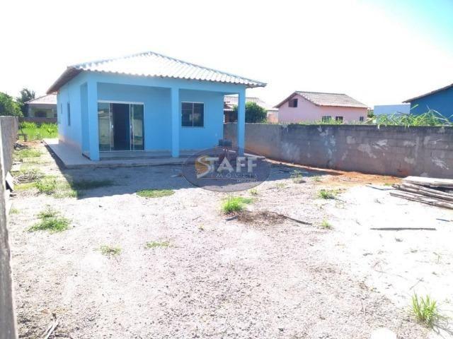 OLV-Casa com 2 dormitórios à venda, 90 m² por R$ 140.000 - Unamar - Cabo Frio/RJ CA1013