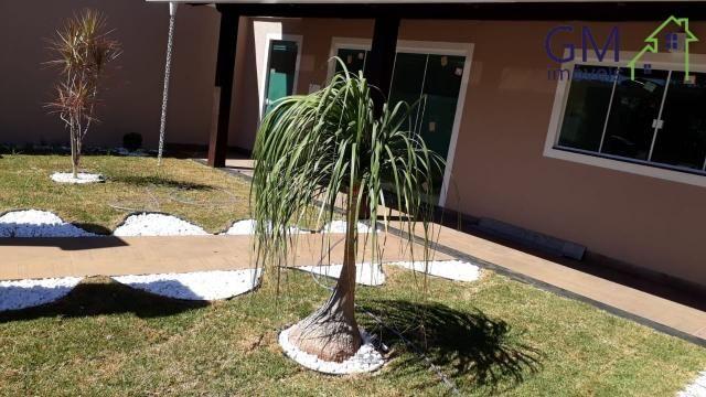 Casa a venda / condomínio jardim europa ii / 03 quartos / churrasqueira / garagem / aceita - Foto 2