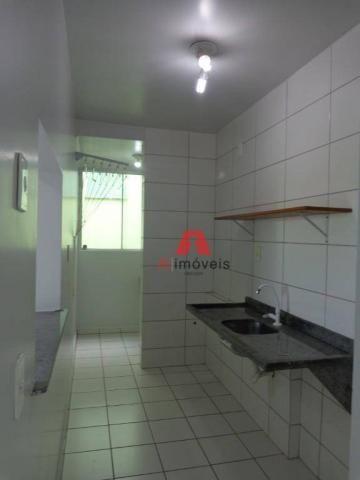 Apartamento com 2 dormitórios para alugar no via parque, 49 m² por r$ 937/mês - floresta s - Foto 2