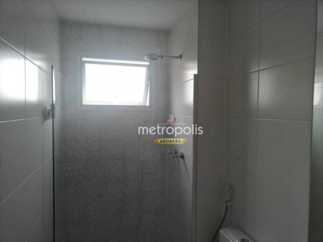 Apartamento com 2 dormitórios para alugar, 69 m² por r$ 2.500/mês - cerâmica - são caetano - Foto 20