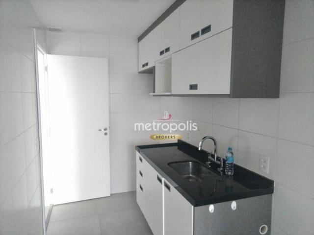 Apartamento com 2 dormitórios para alugar, 69 m² por r$ 2.500/mês - cerâmica - são caetano
