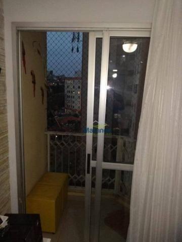 Apartamento com 2 dormitórios à venda, 56 m² por r$ 265.000 - vila alpina - são paulo/sp - Foto 6