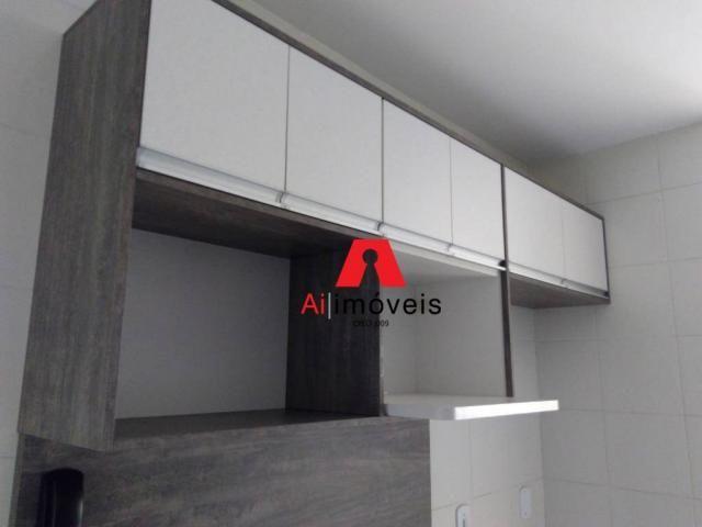Apartamento com 2 dormitórios e 1 suíte com closet, para alugar, 110 m² por r$ 2.600/mês - - Foto 10