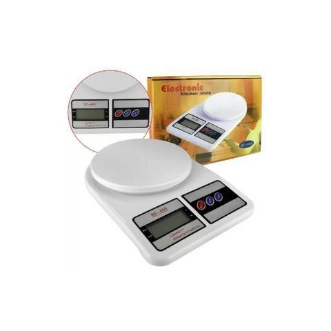 Balança Digital de Cozinha SF-400 Pressão Até 10 kg (Loja na Cohab) - Foto 3