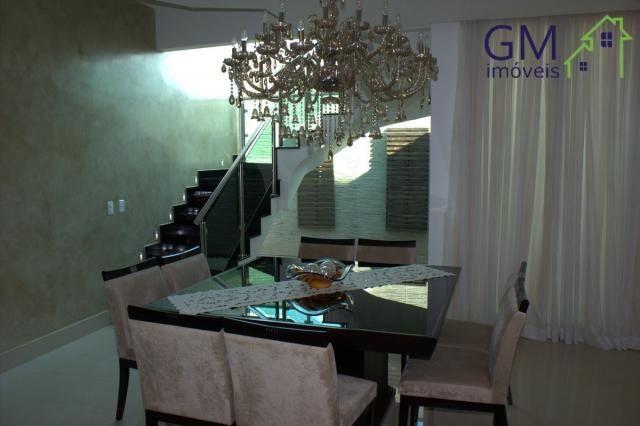 Casa a venda / setor de mansões / 4 suítes / piscina / churrasqueira / varanda / sobradinh - Foto 12