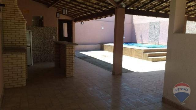 Linda casa com piscina para locação dentro de condomínio - Foto 15