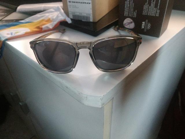 01304de128137 Óculos Oakley Enduro Grey Ink Black Iridium Olimpíadas Rio16 ...