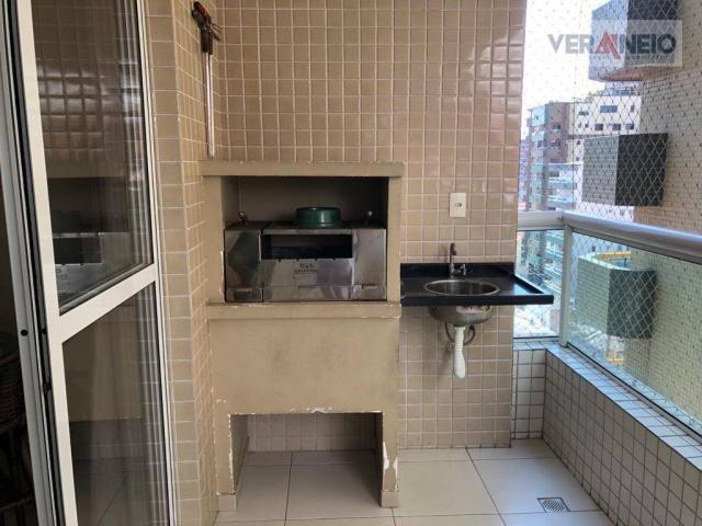 Apartamento com 2 dormitórios para alugar, 99 m² por R$ 3.100,00/mês - Canto do Forte - Pr - Foto 18