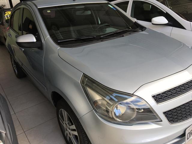 GM - ÁGILE LTZ 1.4 ano 2013, pneus novos, REVISADO, ÚNICA DONA - Foto 12