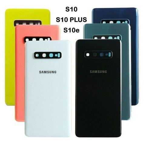 Troca de vidro traseiro Samsung Galaxy S10 e S10 Plus (mão de obra inclusa)