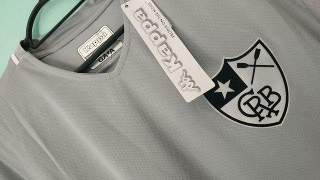 Camisa do Botafogo Cinza de Goleiro 2020 - Foto 2