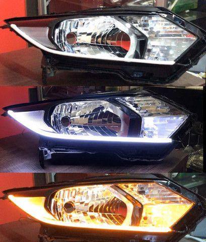 Personalização de farol, instalação de barra drl, ( luz diurna ) - Foto 5