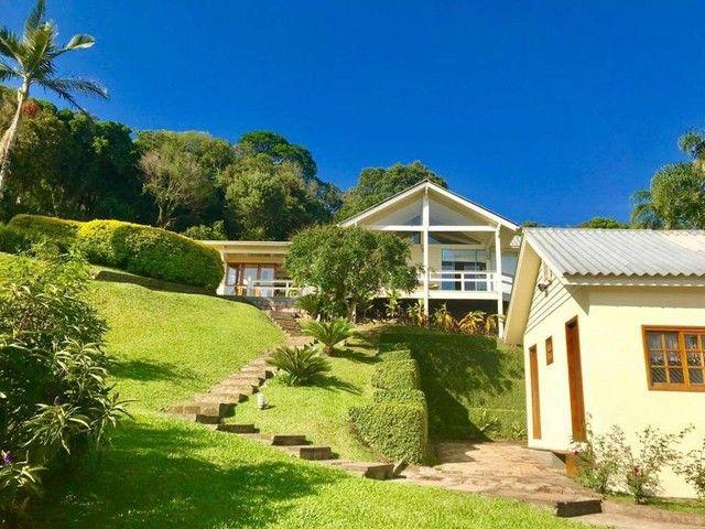 Magnifica casa residencial com praia particular para venda com 500 metros quadrados com 4  - Foto 3