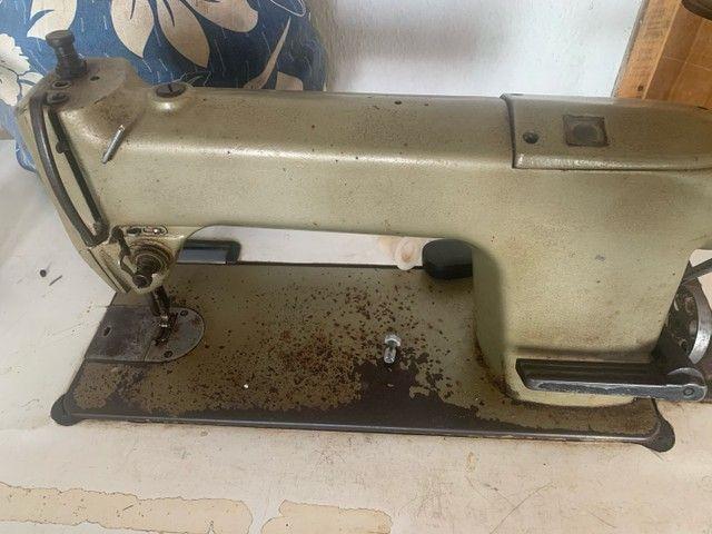 V: máquina de costura profissional singer , já com bana - Foto 2