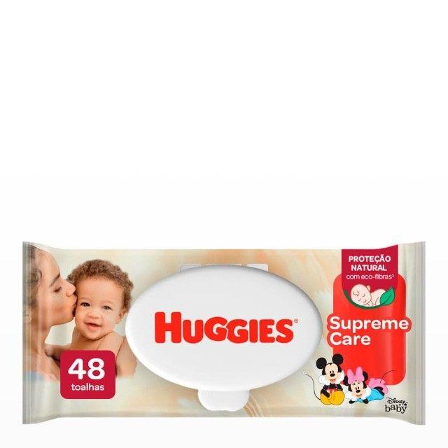 Lenços Umedecidos Huggies Supreme Care 48 u - Foto 2