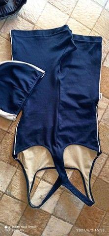 Macaquinho em Helanca Trinys natação ou Hidroginástica - Foto 2