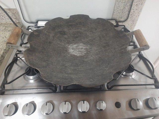 Chapa disco de arado original 52cm fogão  - Foto 4