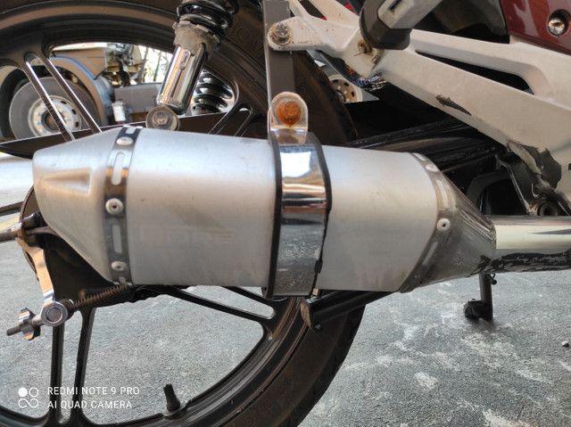 Vendo escape dore, c/ bacalhau Titan 150 - Foto 2