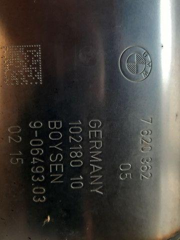 Silenciador traseiro original bmw 328 ano 2015 - Foto 3