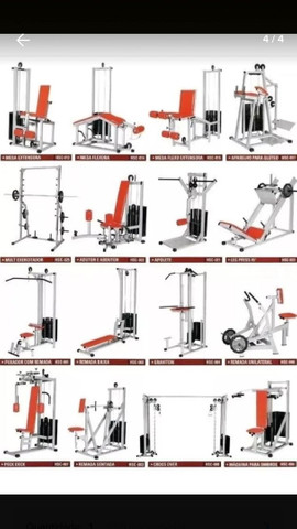 70 Projetos (equipamentos de academia)  - Foto 5