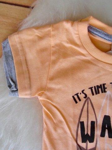 Conjunto Infantil Colorittá Menino Camiseta E Bermuda - Foto 4