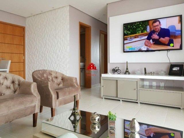 Torres Cenário,03 suítes, Lindo apartamento todo mobiliado, nascente total, Belém-PA. - Foto 2