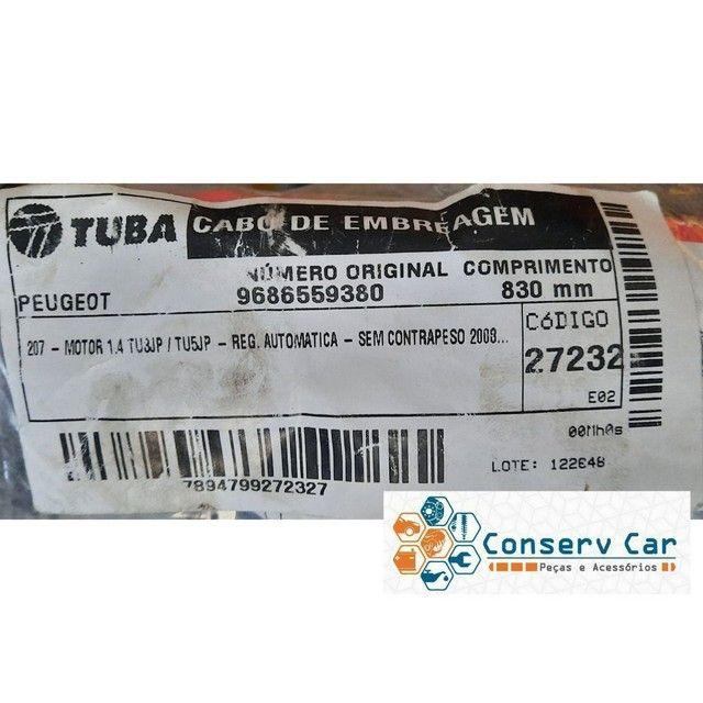 Cabo de Embreagem com Regulagem Automática Peugeot 207 1.4 8v / 1.6 16v R$ 195,00 - Foto 4