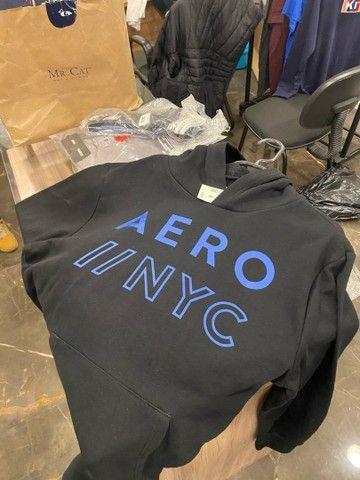 Moletom masculino aeropostale mais camiseta aeropostale - Foto 4