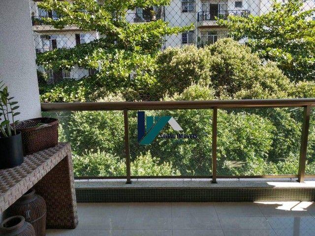 Apartamento montado, próximo ao largo do marrão, com lazer completo, 3 qts 1 suíte 1 vaga - Foto 5