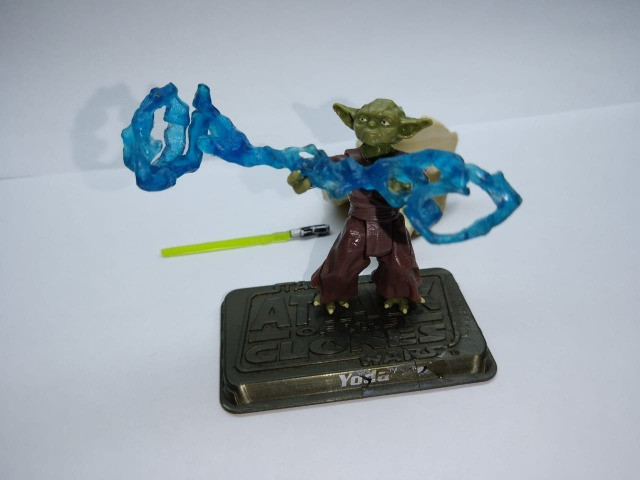 Yoda - Star Wars - Attack Of The Clones - Raridade - Foto 3