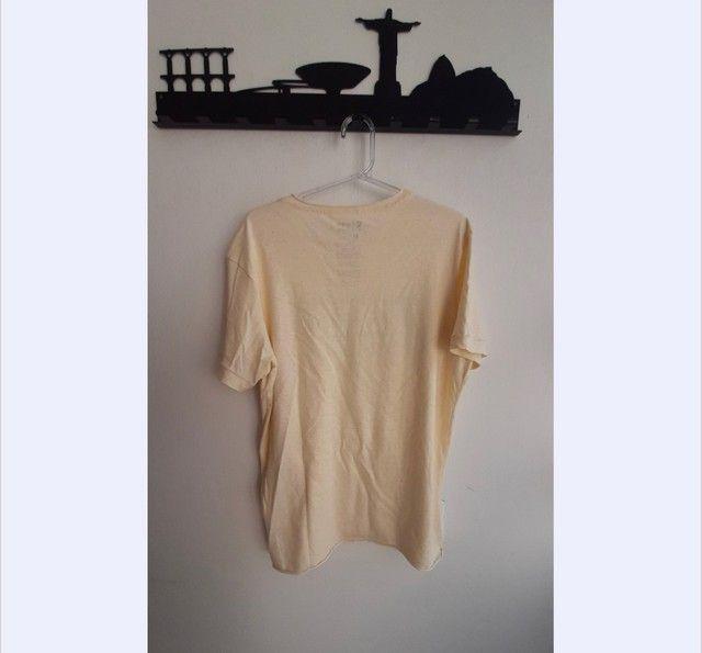 Camisa Osklen Cânhamo Nova  - Foto 3