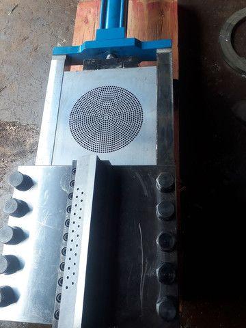 Cabeçote troca tela hidráulico para extrusora  - Foto 5