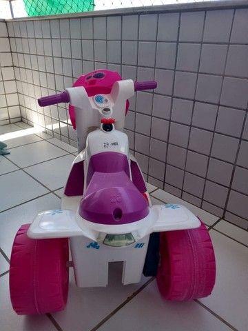 Moto Elétrica Infantil Ban Moto Gatinha 6v - Bandeirante - Foto 4