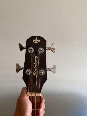 Baixo Acústico Strinberg BA450c 4 cordas