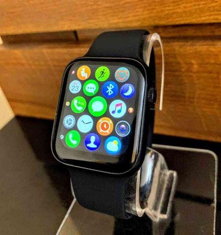 Relógio Smartwatch AK76 PRO 2021 + Frete GRÁTIS - RDO - Foto 2