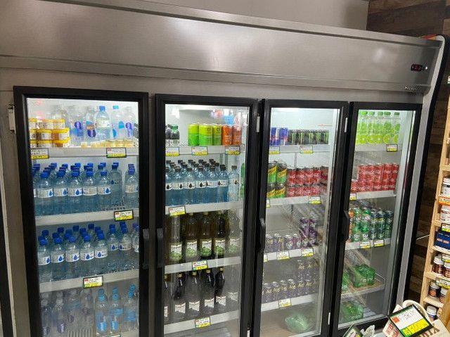 Refrigerador gelopar vertical 2.39m 4 portas inox gvp4 220v