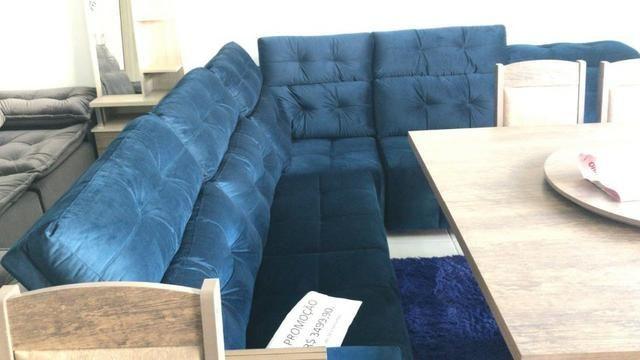 Conjunto sofá canto novo - Foto 2